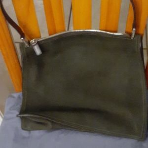 Coach vintage suede shoulder bag